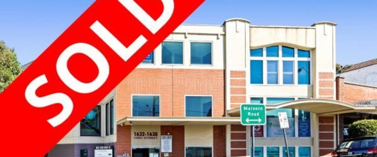 Offices commercial property sold at Suite 2/1632 High Street Glen Iris VIC 3146