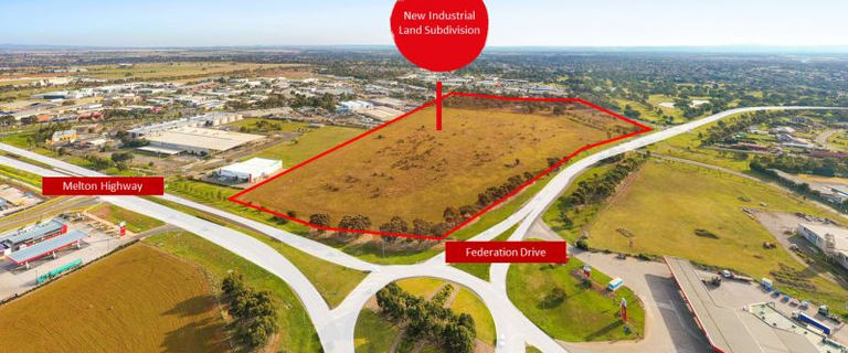 Factory, Warehouse & Industrial commercial property for sale at 3 Federation Drive Melton VIC 3337