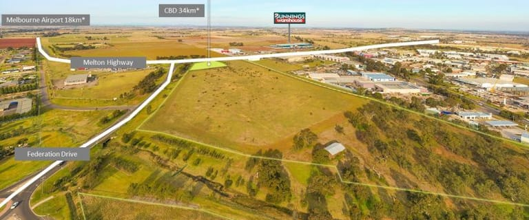 Development / Land commercial property for sale at 3 Federation Drive Melton VIC 3337