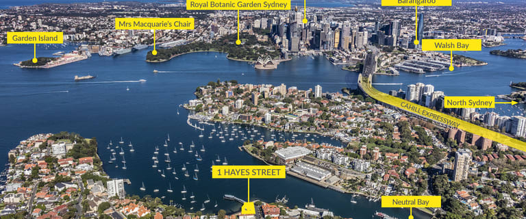 Other commercial property sold at 1 Hayes Street Neutral Bay NSW 2089