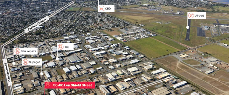 Factory, Warehouse & Industrial commercial property for sale at 56 Len Shield Street Paget QLD 4740