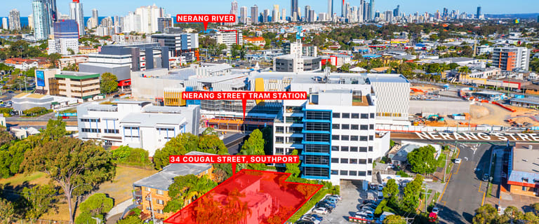 Medical / Consulting commercial property for sale at 34-36 Cougal Street Southport QLD 4215