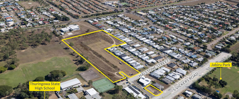 Development / Land commercial property for sale at 8 Halstone Street and 54 South Vickers Road Condon QLD 4815