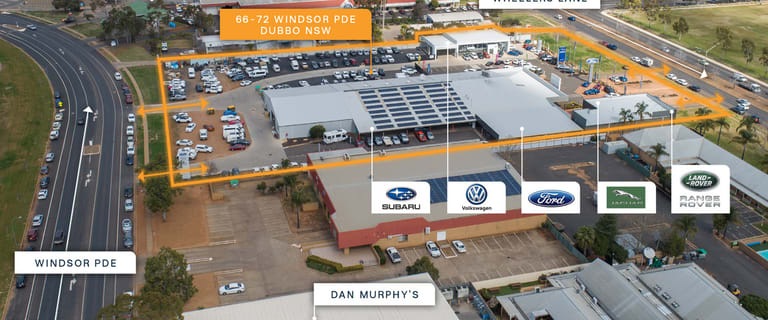 Offices commercial property for sale at 66 -72 Windsor Parade Dubbo NSW 2830