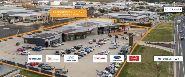 Offices commercial property for sale at 10 Corporation Avenue Bathurst NSW 2795