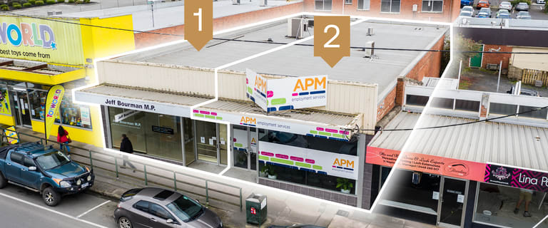 Development / Land commercial property for sale at Shop 1 & 2/9 Napier Street Warragul VIC 3820