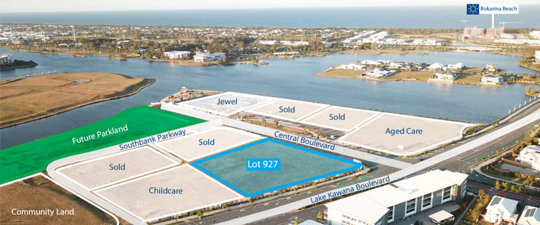 Development / Land commercial property for sale at Lot 927 Central Boulevard Birtinya QLD 4575