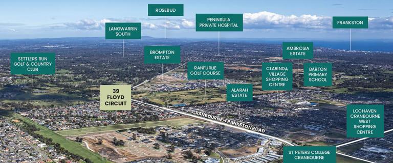 Development / Land commercial property for sale at 39 Floyd Circuit Cranbourne VIC 3977