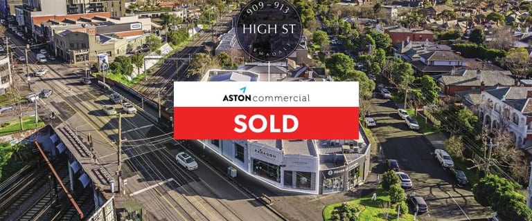 Shop & Retail commercial property sold at 909-913 High Street Armadale VIC 3143