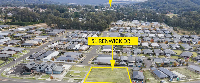Development / Land commercial property for sale at 51 Renwick Drive Renwick NSW 2575