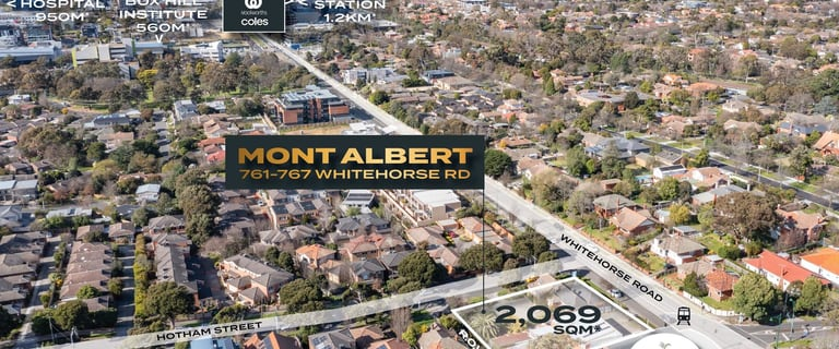 Development / Land commercial property for sale at 761-767 Whitehorse Road Mont Albert VIC 3127