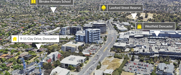 Development / Land commercial property for sale at 9-11 Clay Drive Doncaster VIC 3108