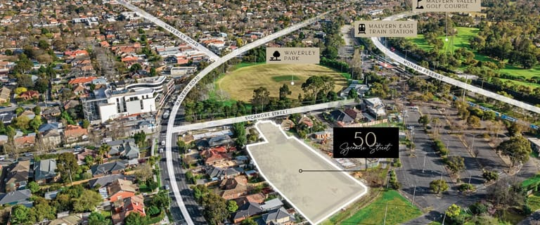 Development / Land commercial property for sale at 50 Sycamore Street Malvern East VIC 3145