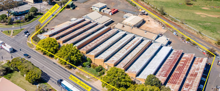 Factory, Warehouse & Industrial commercial property for sale at 156 Anzac Avenue Harristown QLD 4350