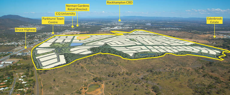Development / Land commercial property for sale at 23-27 William Palfrey Road Parkhurst QLD 4702