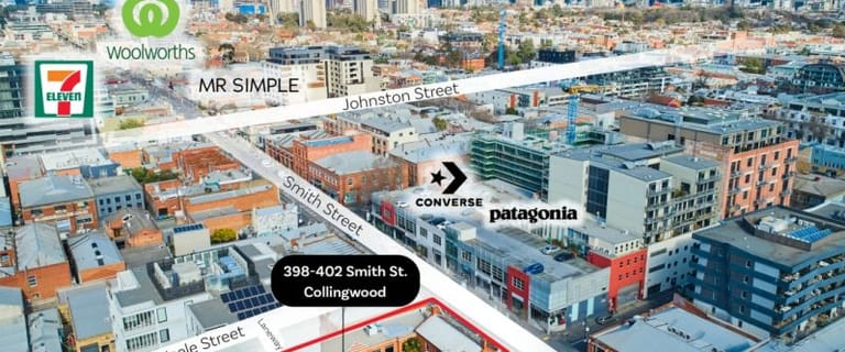 Shop & Retail commercial property for sale at 398-402 Smith Street Collingwood VIC 3066