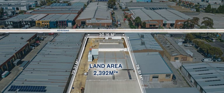 Factory, Warehouse & Industrial commercial property for sale at 57 Keys Road Moorabbin VIC 3189