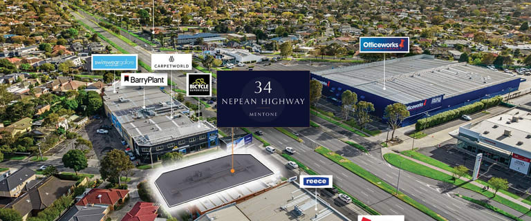 Showrooms / Bulky Goods commercial property for sale at 34 Nepean Highway Mentone VIC 3194