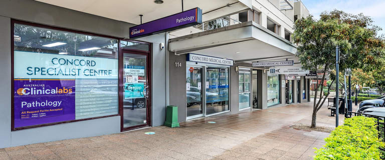 Medical / Consulting commercial property for sale at 1/114 Majors Bay Road Concord NSW 2137