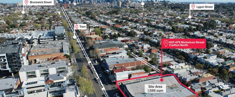 Shop & Retail commercial property for sale at 667-679 Nicholson Street Carlton North VIC 3054