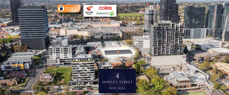 Development / Land commercial property for sale at 4 Shipley Street Box Hill VIC 3128