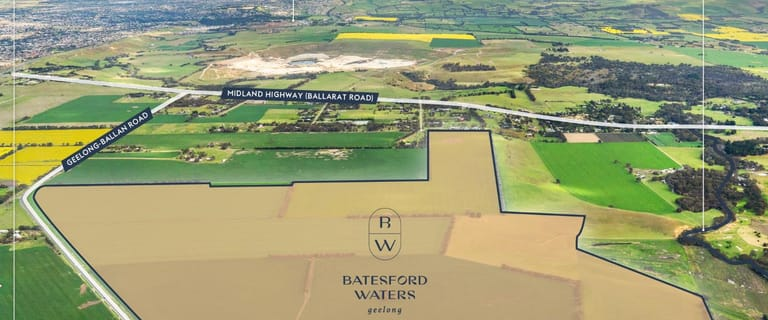 Development / Land commercial property for sale at Batesford Waters 205 Geelong-Ballan Road Moorabool VIC 3213