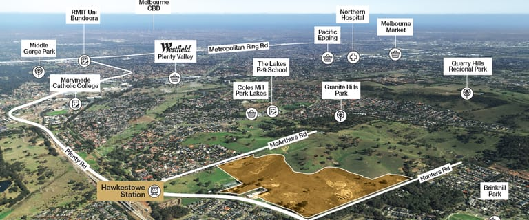 Development / Land commercial property for sale at 25 Hunters Road South Morang VIC 3752