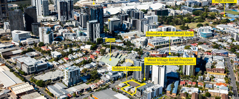 Development / Land commercial property for sale at 15-17 Mollison Street and 35 and 39 Bank Street West End QLD 4101