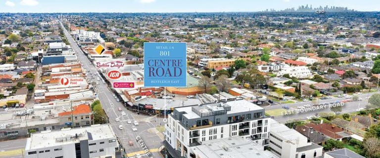 Shop & Retail commercial property for lease at 801 Centre Road Bentleigh East VIC 3165