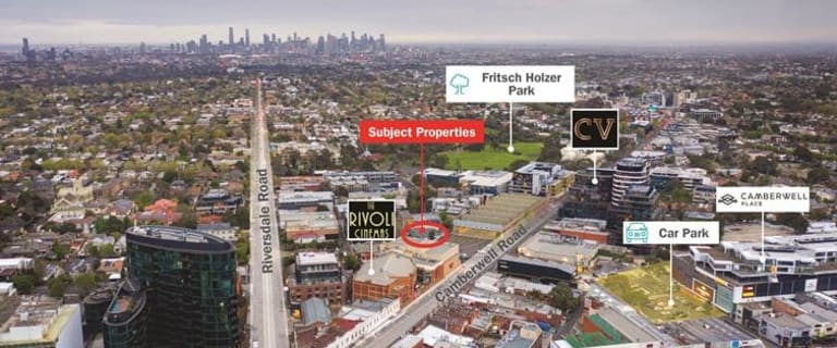 Offices commercial property for sale at 1-7 Council Street Hawthorn East VIC 3123