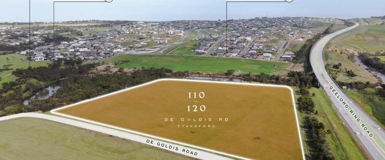 Development / Land commercial property for sale at 110-120 De Goldis Road Fyansford VIC 3218