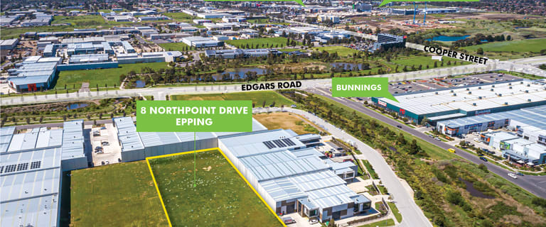 Development / Land commercial property for sale at 8 Northpoint Drive Epping VIC 3076