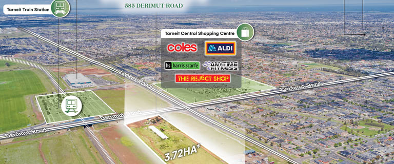 Development / Land commercial property for sale at 585 Derrimut Road Tarneit VIC 3029