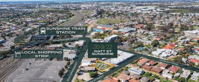 Offices commercial property for sale at 20 & 22 Watt Street Sunshine VIC 3020