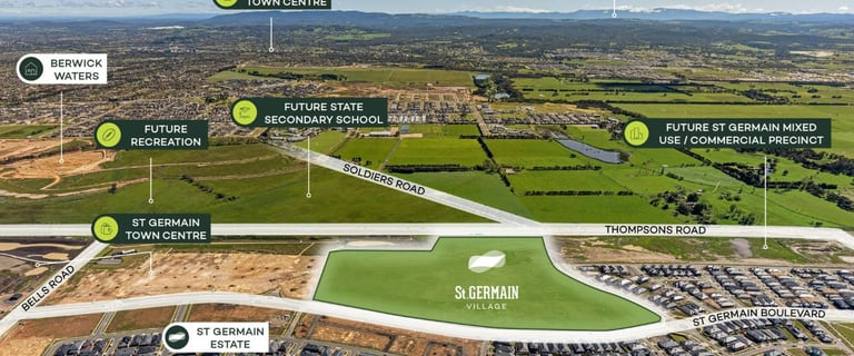 Development / Land commercial property for sale at Thompsons Road Clyde North VIC 3978