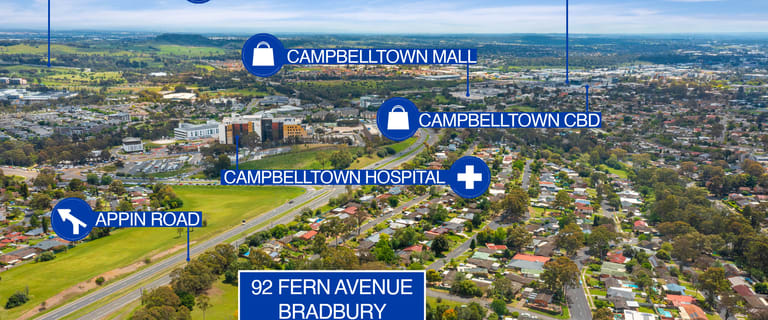 Development / Land commercial property for sale at 92 Fern Ave Bradbury NSW 2560