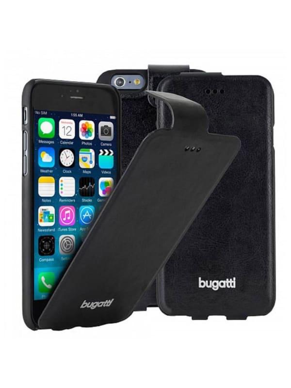 Bugatti FlipCase Geneva zwart voor iPhone 6 Plus