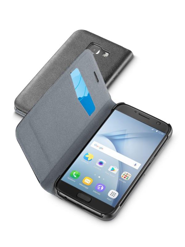 Cellular-Line Book Essential Samsung Galaxy A3 (2017) - Zwart