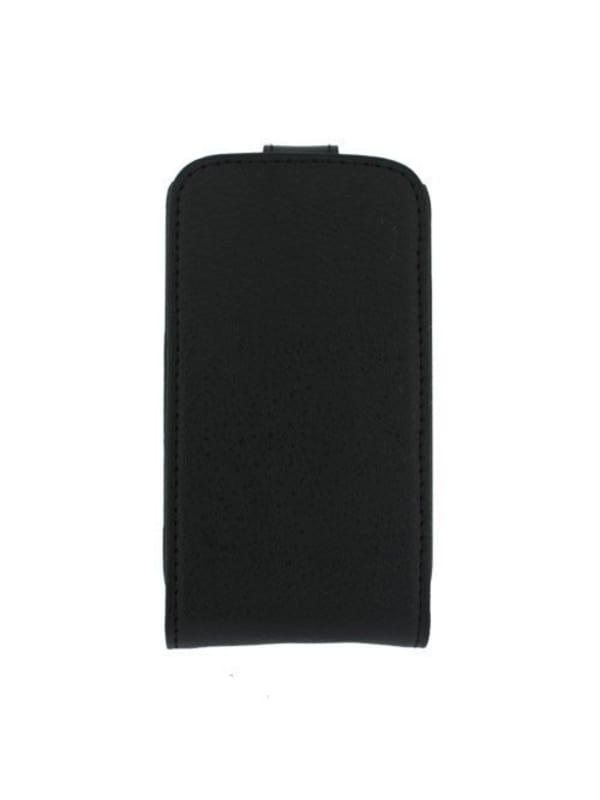 Globo'comm Flip hoesje voor Samsung Galaxy Mini 2 - Zwart