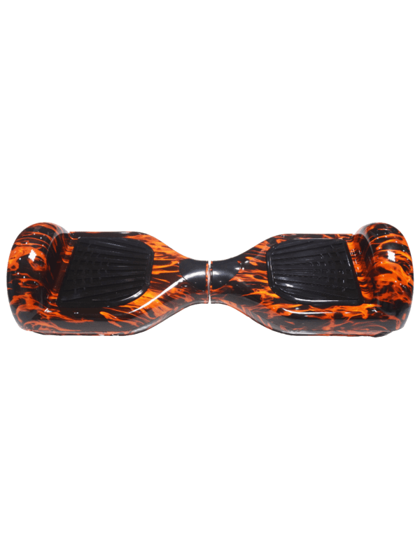 Self Balancing Smart Hoverboard Balance Scooter / LED Verlichting - Oranje (Fire)