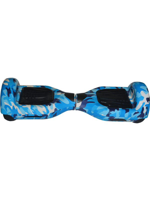 Self Balancing Smart Hoverboard Balance Scooter / LED Verlichting - Blauw (Blue Cam)