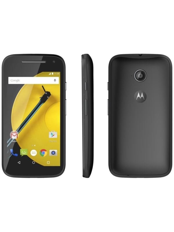 Motorola Moto E - 2de generatie - Zwart
