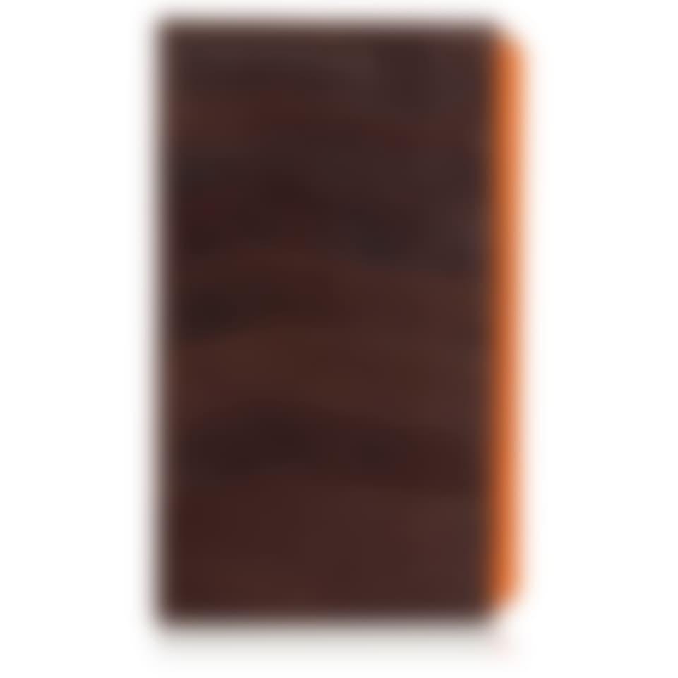Camden leather slim evening wallet