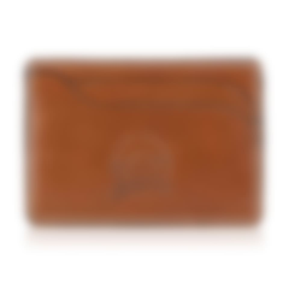 Livingstone leather slim card holder