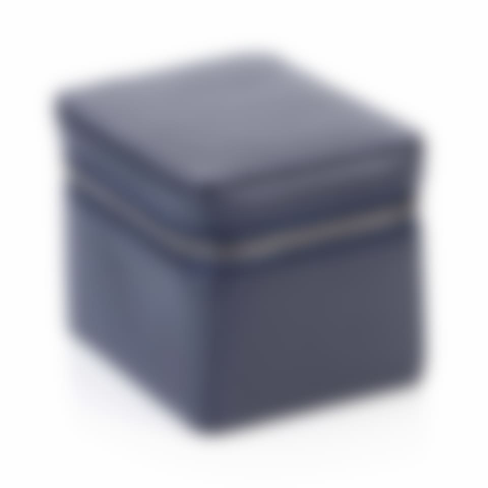 Richmond leather small trinket box