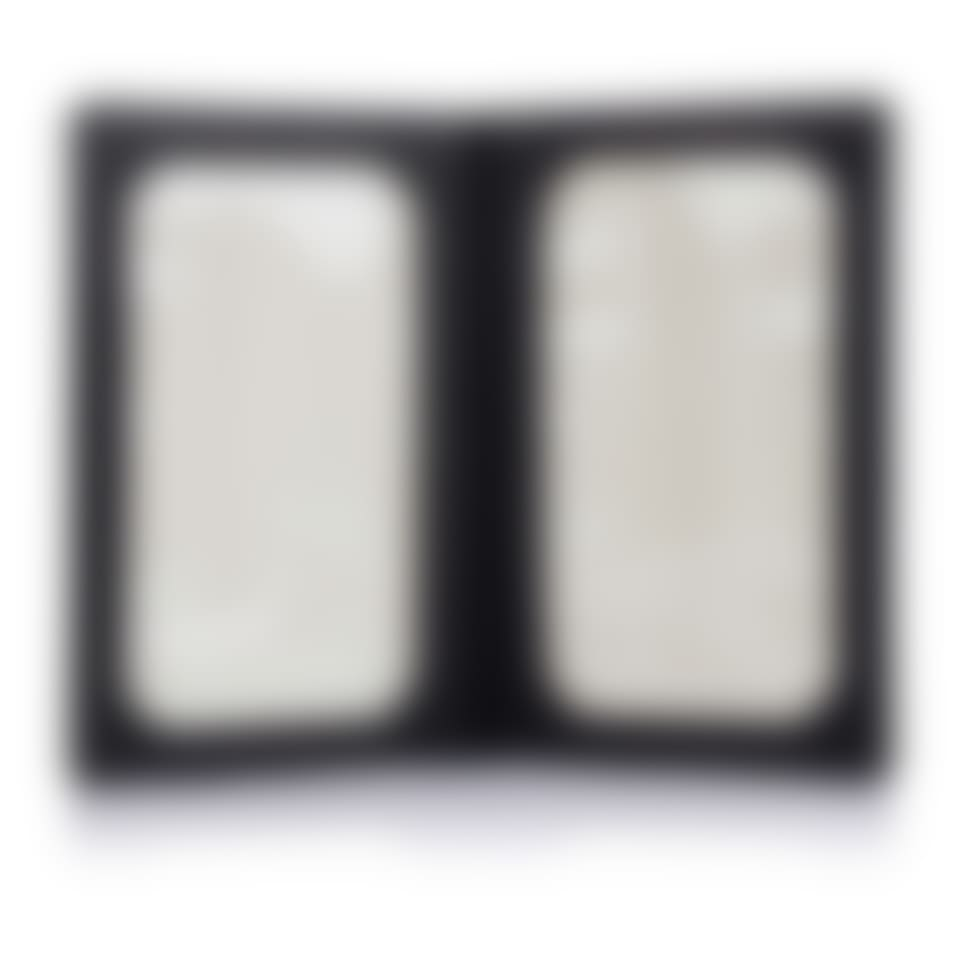 Salisbury leather folding photo frame open