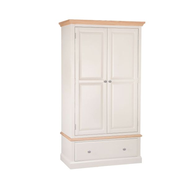Burnell Two Door One Drawer Wardrobe