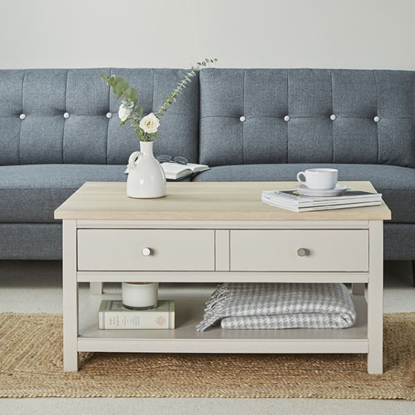 Rushbury Painted Oak Coffee Table