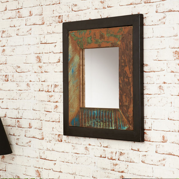 Urban Chic Mirror  small (Hangs landscape or portrait)