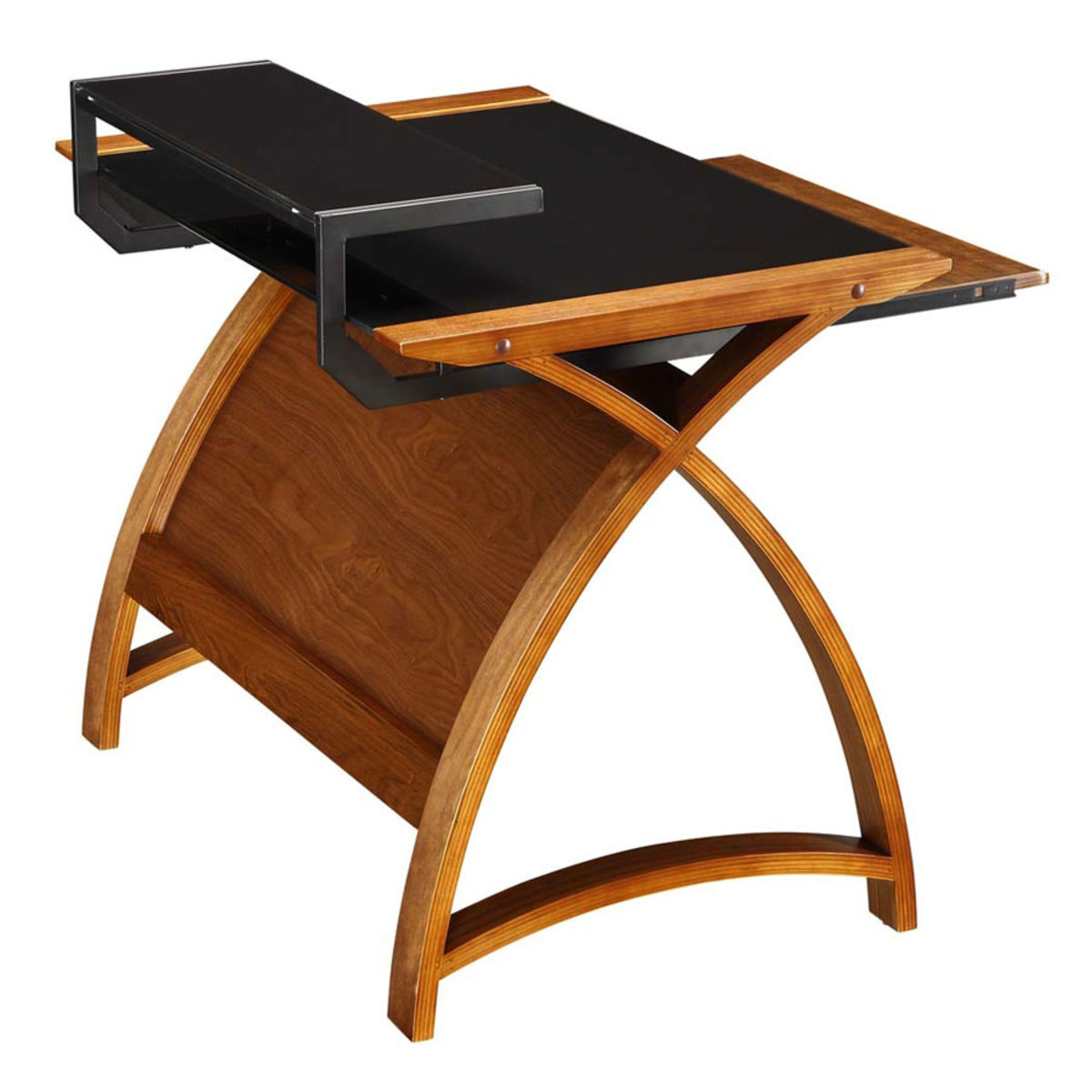 Curve Home Office Walnut Desk 90cm Was 163 325 00 Now 163 269
